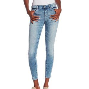 BlankNYC The Bond Mid Rise Skinny Jeans Size 26